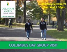 Information regarding COLUMBUS DAY VISIT DAY is as follows Start date is September 19 2017 and End Date is October 10 2017 and Group Name is Admission and File is Browse and Name of Ad/Event is COLUMBUS DAY VISIT DAY and Affiliation is Department and File Name is Columbus-Day-AD-for-DVUTUBE_comp.jpg and Panel is Main and Name is Maureen Doyle and Email is maureen.doyle@delval.edu and