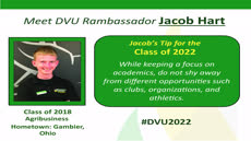 Information regarding Rambassador Profile Jacob is as follows Start date is March 08 2018 and End Date is December 31 2018 and Group Name is Admission and File is Browse (for all other file formats) and File Name is Rambassador-Profile-Template-for-DVUTube-Jacob_comp.jpg and Screen Location is Main and Name is Maureen Doyle and Email is maureen.doyle@delval.edu and Name of Ad/Event is Rambassador Profile Jacob and Affiliation is Recognized Student Organization and