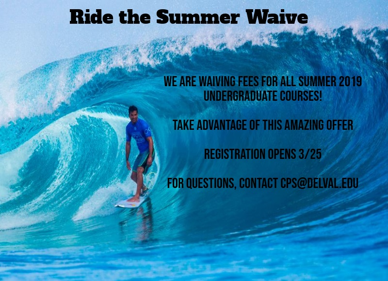 Information regarding Summer 2019 is as follows Start date is March 26 2019 and End Date is July 09 2019 and File is Browse (for all other file formats) and Group Name is CPS and Affiliation is Department and File Name is Ride-The-Summer-Waive_comp.jpg and Screen Location is Main and Name is Stephanie Morace and Email is stephanie.morace@delval.edu and Name of Ad/Event is Summer 2019 and