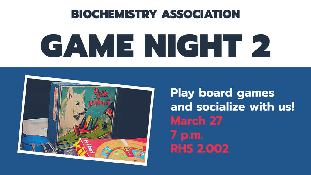 Information regarding Game night is as follows End Date is March 27 2019 and Start date is March 14 2019 and Group Name is Biochemistry Association and File is Browse and Name of Ad/Event is Game night and Name is Henock Abera and File Name is 1552578269_comp.jpg and Email is hxa170001@utdallas.edu and Panel is Main and Affiliation is Recognized Student Organization and