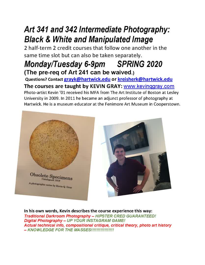 Information regarding Art Class is as follows Start date is November 12 2019 and End Date is December 31 2019 and Name of Ad/Event is Art Class and File is Browse and Affiliation is Staff and File Name is Kevin-photo-poster_comp.jpg and Name is Marisa Orezzoli and Email is orezzolim@hartwick.edu and Panel is Side and