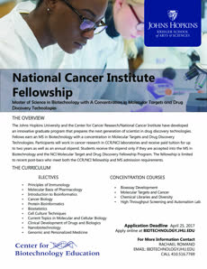 Information regarding NCI Fellowship Application Open is as follows Create Your Own Tags: is #Fellowship and Start date is February 24 2017 and End Date is March 31 2017 and File is Browse and Group Name is Center for Biotechnology Educ ation and Affiliation is Department and File Name is NCI-Fellowship-Flyer_comp.jpg and Name of Ad/Event is NCI Fellowship Application Open and Name is Rachael Romano and Email is rromano3@jhu.edu and Panel is Side and