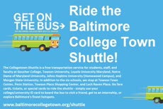 Information regarding Baltimore College Town Shuttle is as follows Start date is August 26 2016 and End Date is September 30 2016 and Name of Ad/Event is Baltimore College Town Shuttle and File is Browse and Affiliation is Department and File Name is collegetown-shuttle-ad_comp.jpg and Email is kfricke@jhu.edu and Name is Kirsten Fricke and Panel is Main and Group Name is Student Leadership and Involvement and