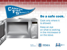 Information regarding National Campus Fire Safety Month is as follows Start date is September 06 2017 and End Date is September 30 2017 and Email is ajoyner7@jhmi.edu and Name is Alfonso Joyner and File is Browse and Affiliation is Department and Group Name is Health, Safety and Environment and File Name is safety_tips_campus_cooking.1200x900_comp.jpg and Panel is Main and Name of Ad/Event is National Campus Fire Safety Month and
