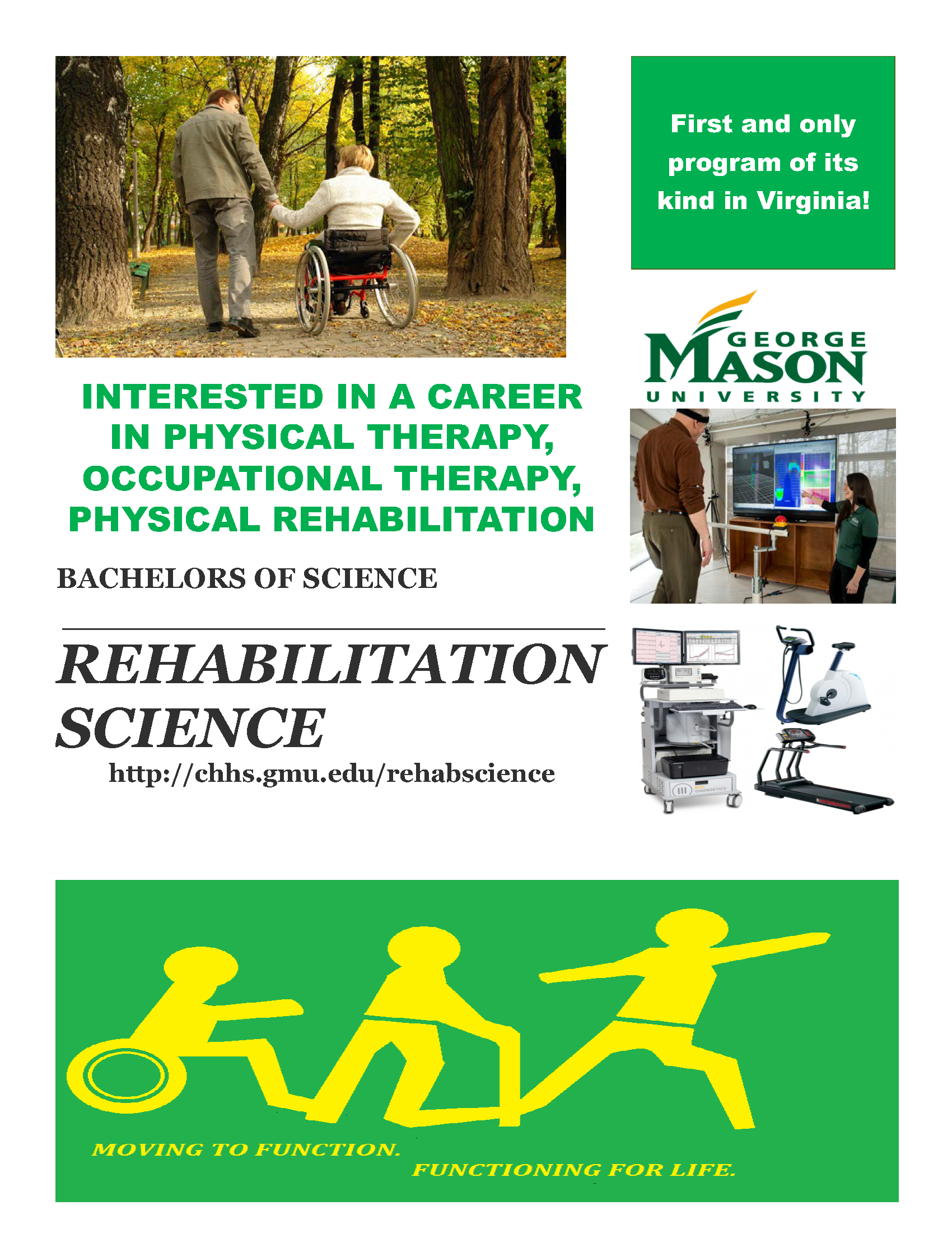 Information regarding BS in Rehabilitation Science ad is as follows Create Your Own Tags: is #RehabilitationScience #PTprepping and Start date (when you would like your content to be posted) is November 17 2017 and End Date  (when you would like your content to be removed from the screens) is December 17 2017 and File is Browse and Name of Ad/Event is BS in Rehabilitation Science ad and File Name is Ad2_comp.jpg and Email is jbowen6@gmu.edu and Name is Josh Bowen and Affiliation is Mason Department and Panel for your ad to be displayed is Side and
