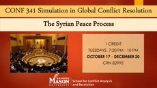 Information regarding CONF 341 Simulation in Global Conflict Resolution is as follows Start date (when you would like your content to be posted) is August 19 2016 and End Date  (when you would like your content to be removed from the screens) is October 18 2016 and File is Browse and Name of Ad/Event is CONF 341 Simulation in Global Conflict Resolution and File Name is CONF-341-Simulation-in-Global-Conflict-Resolution_comp.jpg and Panel for your ad to be displayed is Main and Affiliation is Mason Department and Name is Sarah  Kincaid and Email is skincai4@gmu.edu and