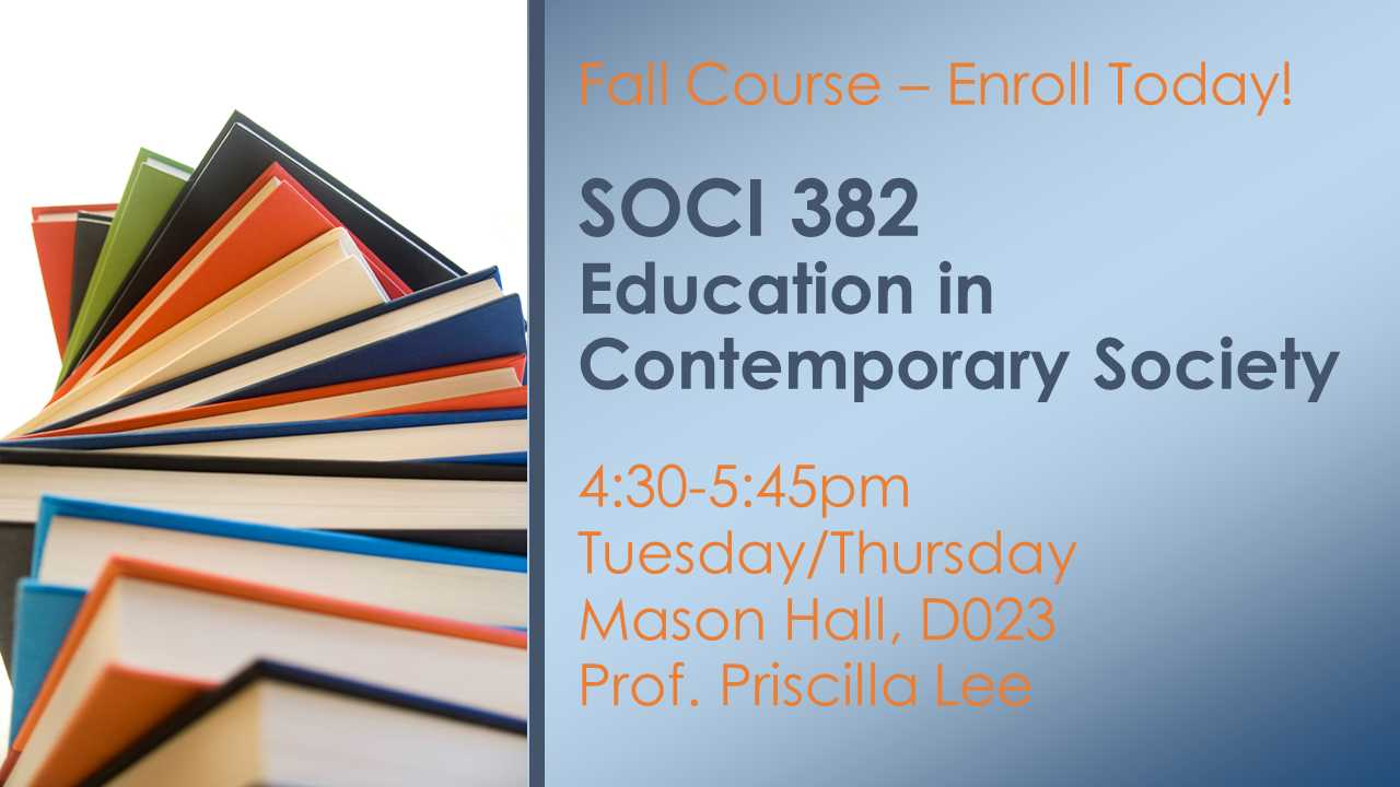 Information regarding Fall 2016 Course: SOCI 382 is as follows Start date (when you would like your content to be posted) is August 08 2016 and End Date  (when you would like your content to be removed from the screens) is August 26 2016 and File is Browse and Email is emcsherr@gmu.edu and Name is Erin McSherry and Name of Ad/Event is Fall 2016 Course: SOCI 382 and File Name is SOCI382_FA16_MasonAd_comp.jpg and Panel for your ad to be displayed is Main and Affiliation is Mason Department and