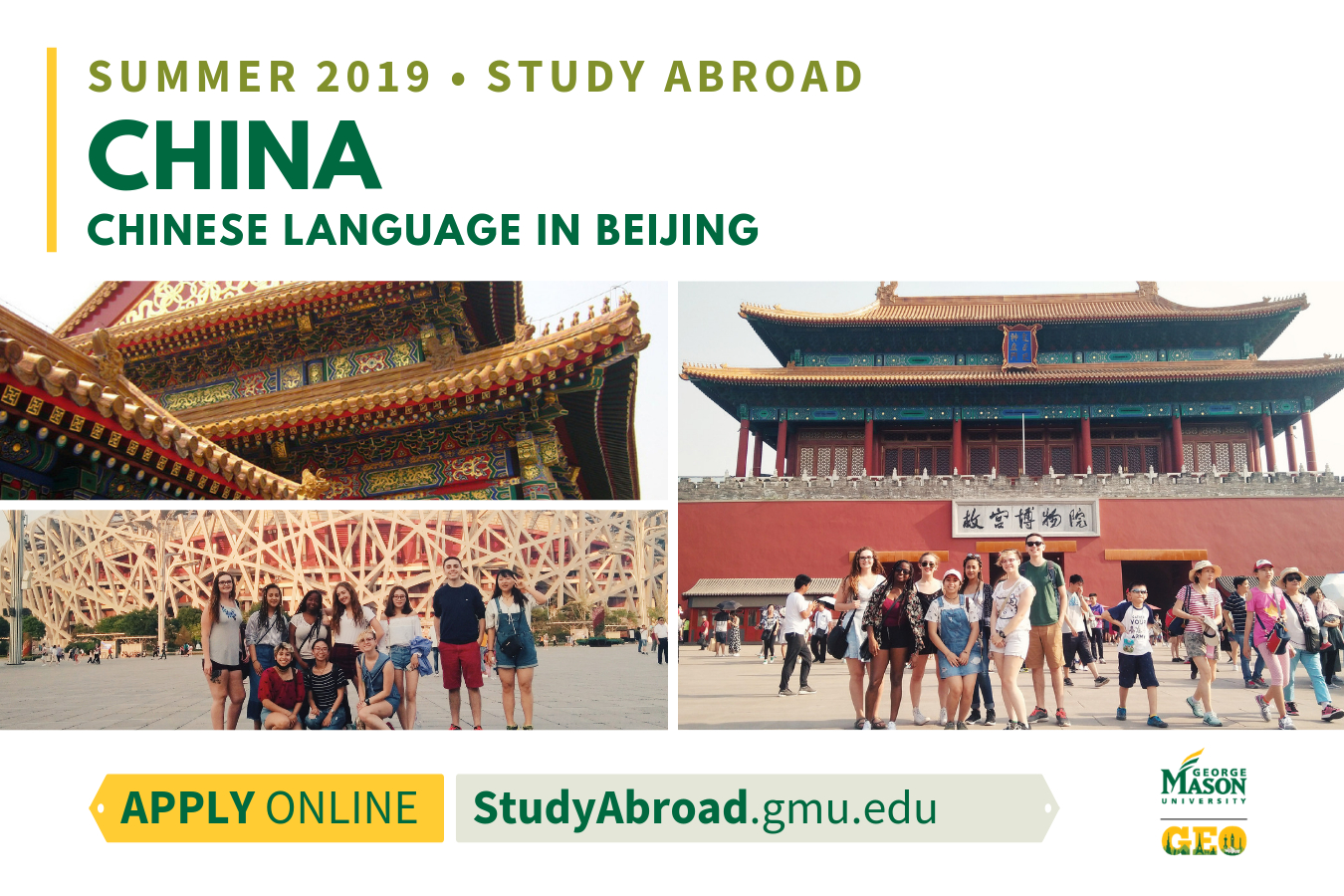 Information regarding China Language is as follows Start date (when you would like your content to be posted) is January 09 2019 and End Date  (when you would like your content to be removed from the screens) is March 10 2019 and Name is Achim Loch and Email is aloch@gmu.edu and File is Browse and Name of Ad/Event is China Language and Group Name is Global Education Office and File Name is SU19_China-Language_comp.jpg and Panel for your ad to be displayed is Main and Affiliation is Mason Department and