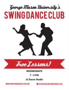 Information regarding GMU Swing Lessons is as follows Start date (when you would like your content to be posted) is September 01 2017 and End Date  (when you would like your content to be removed from the screens) is December 06 2017 and Name is Allen Zadei and Email is azadei@masonlive.gmu.edu and File is Browse and Group Name is GMU Swing Dance Club and Name of Ad/Event is GMU Swing Lessons and File Name is follinSwingflyer_comp.jpg and Affiliation is Mason recognized student organization and Panel for your ad to be displayed is Side and