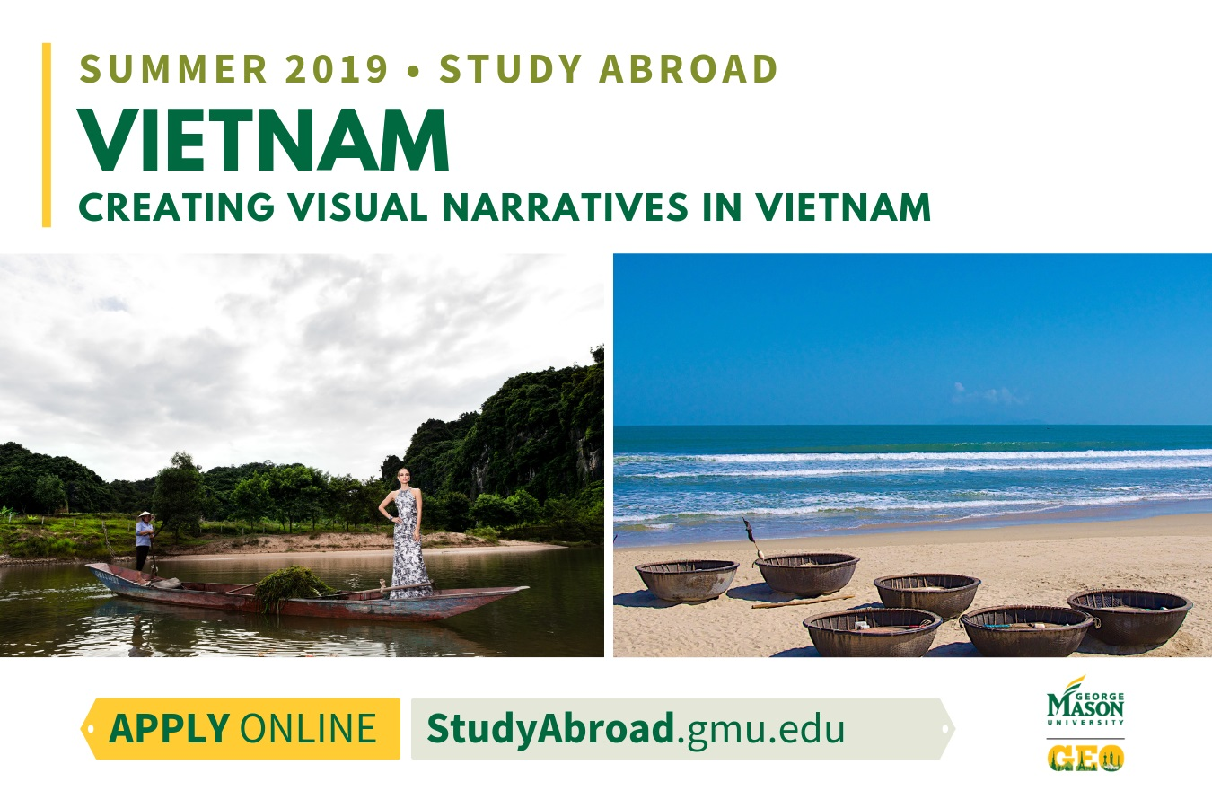 Information regarding Vietnam Narratives is as follows Start date (when you would like your content to be posted) is January 08 2019 and End Date  (when you would like your content to be removed from the screens) is March 10 2019 and Name is Achim Loch and Email is aloch@gmu.edu and File is Browse and File Name is vietnamnarratives2_comp.jpg and Panel for your ad to be displayed is Main and Affiliation is Mason Department and Group Name is The Global Education Office and Name of Ad/Event is Vietnam Narratives and