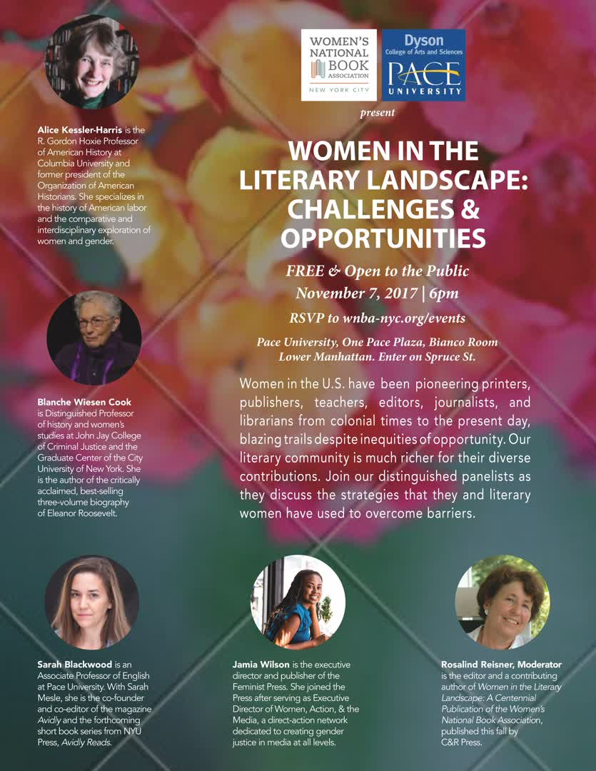 Information regarding Women in the Literary Landscape: Challenges & Opportunities is as follows Start date is September 21 2017 and End Date is November 07 2017 and File is Browse and Affiliation is Department and Group Name is Dyson College Dean's Office and File Name is 1507735942_comp.jpg and Email is rmilan@pace.edu and Name is Ryan Milan and Panel is Side and Name of Ad/Event is Women in the Literary Landscape: Challenges & Opportunities and