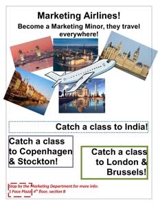 Information regarding Travel With A Marketing Minor is as follows Start date is March 03 2016 and End Date is May 31 2017 and File is Browse and Affiliation is Department and File Name is TravelWithAMarketingMinor_comp.jpg and Name is Sarah Nandlal and Panel is Side and Email is snandlal@pace.edu and Name of Ad/Event is Travel With A Marketing Minor and
