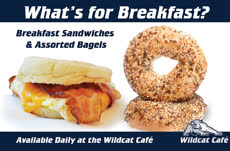 Information regarding Wildcat Cafe_Breakfast is as follows Create Your Own Tag: is #unhdining and Start date is October 17 2017 and End Date is June 01 2018 and Name is Amy Toussaint and Email is amy.toussaint@unh.edu and File is Browse and Affiliation is Department and File Name is Wildcat-Cafe_Breakfast_comp.jpg and Panel is Main and Group Name is UNH Dining and Name of Ad/Event is Wildcat Cafe_Breakfast and
